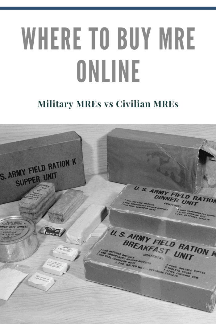 military rations mres