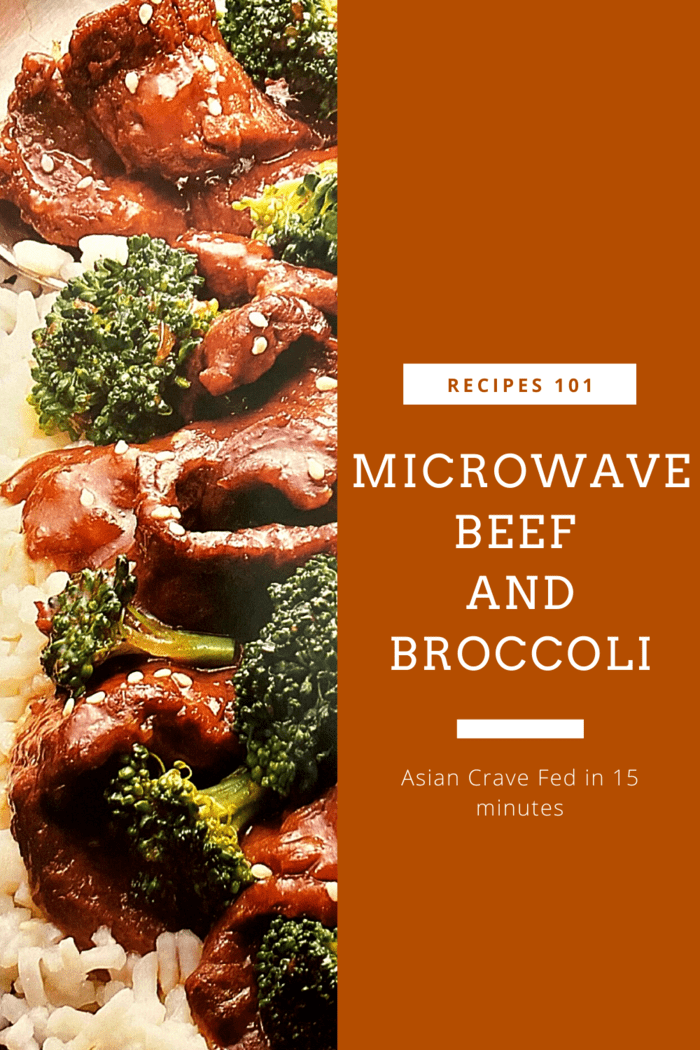 Microwave Beef and Broccoli
