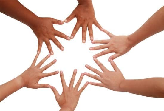 hands with fingers touching creating a circle representing the role of a support coordinator