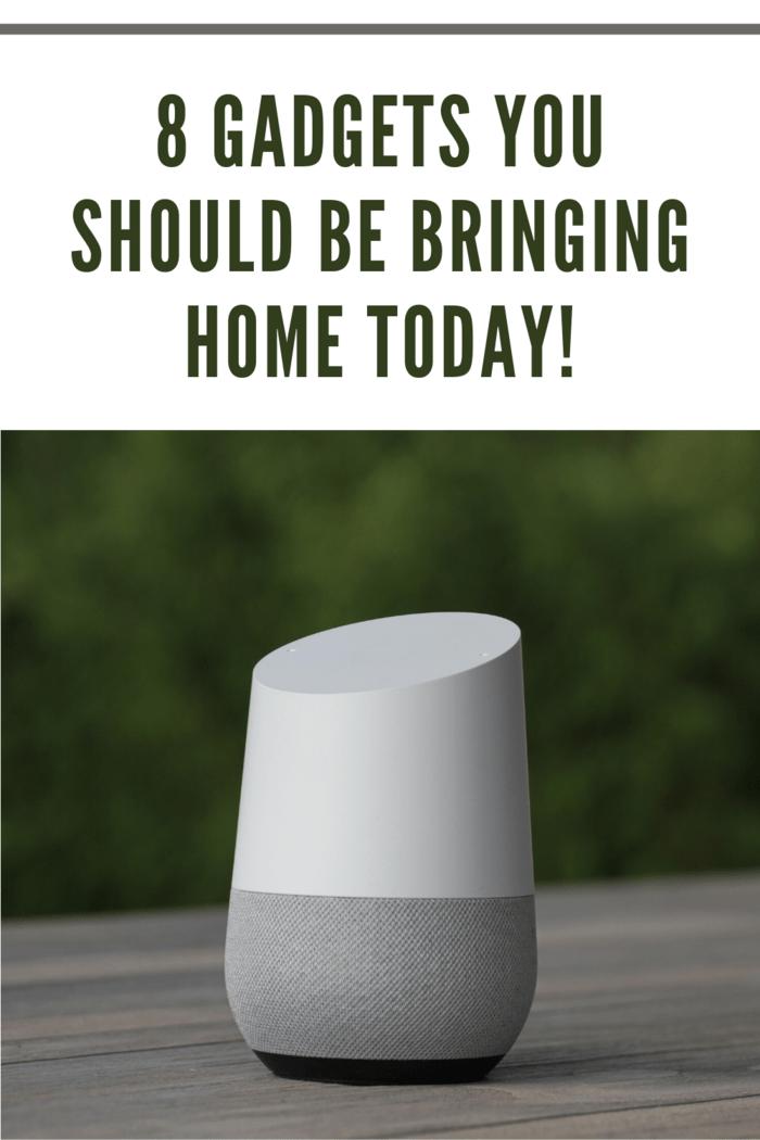 smart home gadget like Alexa or Google Dot