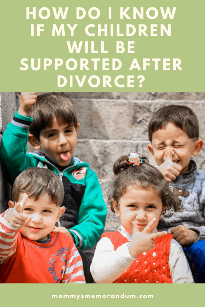 Your child needs to be supported throughout the post-divorce period.