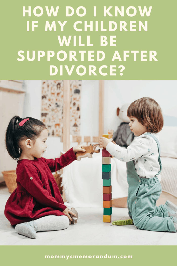 While children have real emotional and physical needs that need to be met, setting arrangements for a child's support after a divorce usually revolves around finances.
