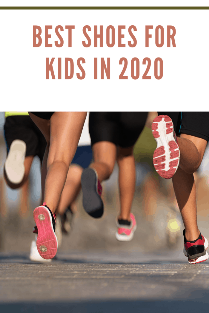 Running children, in best shoes for kids 2020, young athletes run in a kids run race,running on city road detail on legs,running in the light of morning