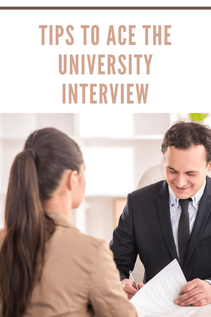 College Baord interviewing female candidate for University