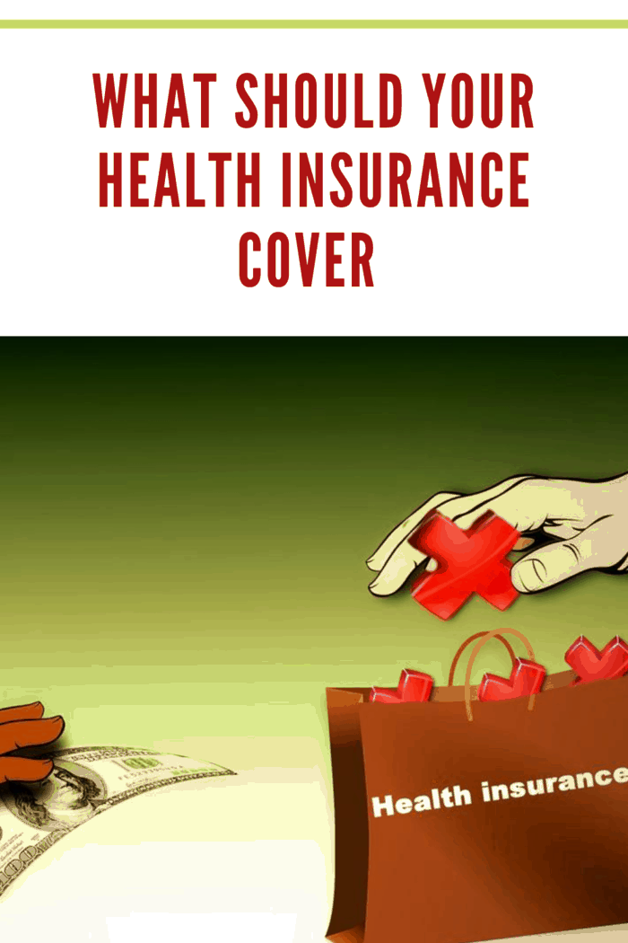 clip art of hand with dollar paying for health insurance out of a bag