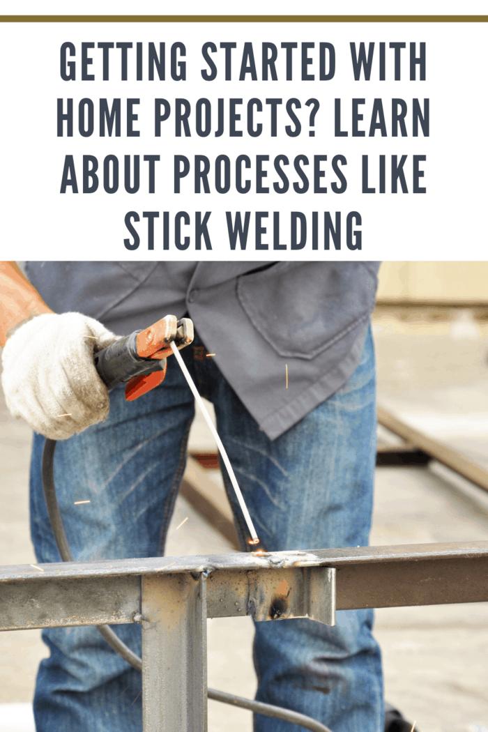 Arc welding or stick welding
