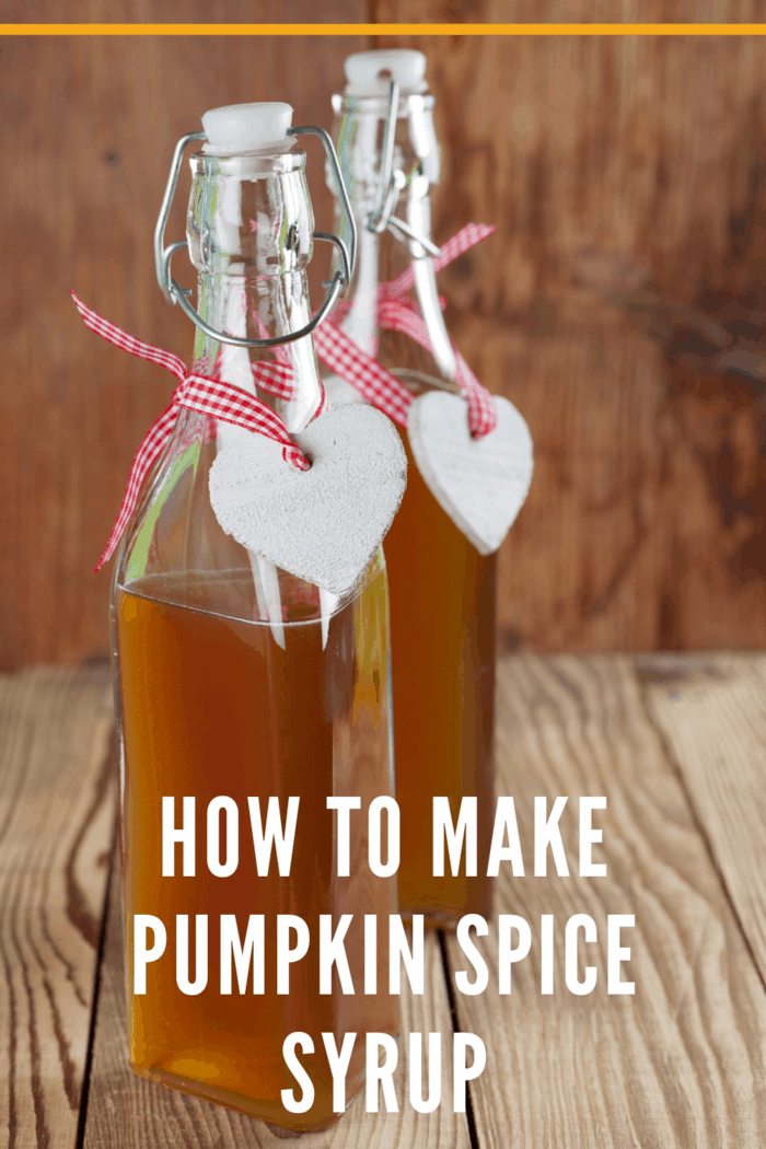 pumpkin spice syrup for coffee, lattes, pancakes and more