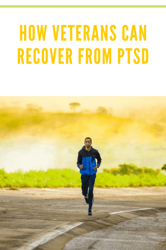 veteran recovering from PTSD by exercising regularly