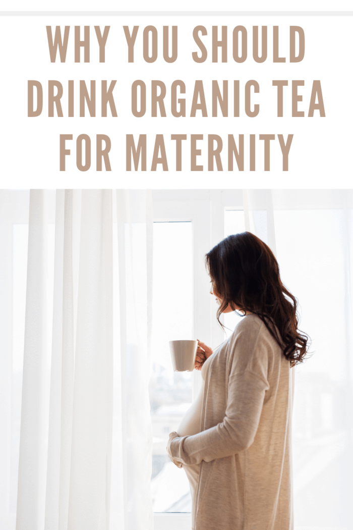 pregnancy, drinks, rest, people and expectation concept - close up of happy pregnant woman with cup drinking tea looking through window at home