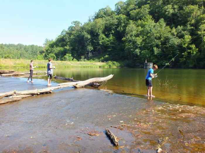 fishing at fairystone state park