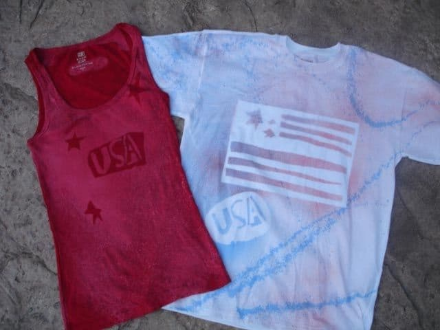 Make your own Fourth of July Shirts