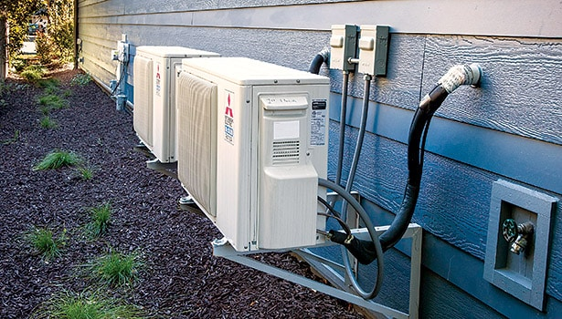 6 benefits of ductless avac system, air conditioner unit, hvac