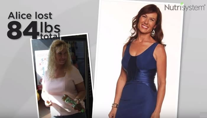 Nutrisystem: Coupons, Philosophy and Alice's Success Story