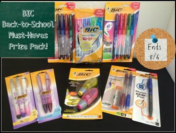 BIC Prize Pack