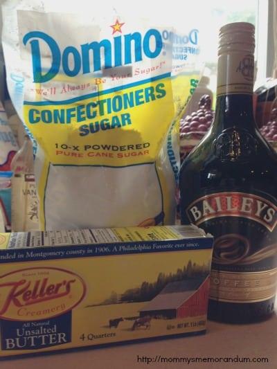 Bailey's Irish Cream Frosting recipe ingredients