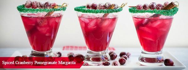 Bare Spiced Cranberry Margarita #Recipe