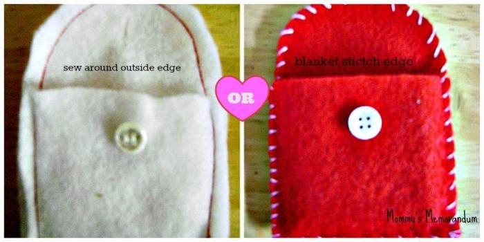 Easy #DIY Ghiradelli Advent adding the button Collage