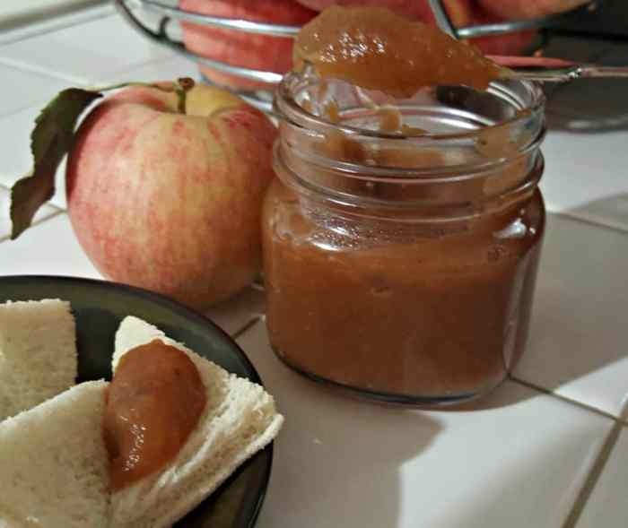 This no-peel Instant Pot Apple butter recipe so it's incredibly easy to make and cooking the apples in the Instant Pot takes a fraction of the time as the traditional method.