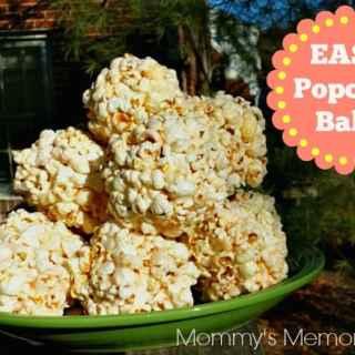 Easy Popcorn Balls #Recipe