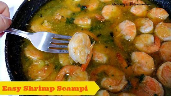 Easy Shrimp Scampi #Recipe