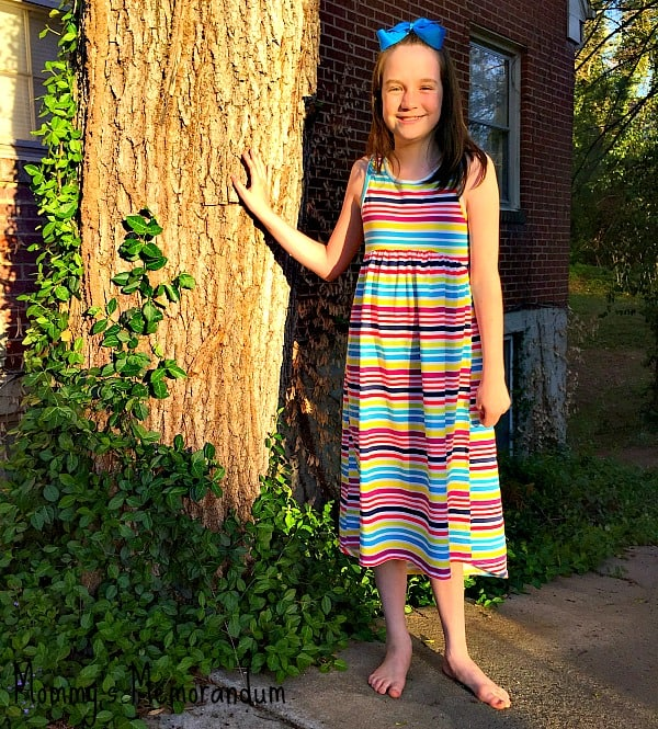 Fabkids spring into summertime outfit