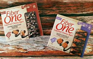 #FiberOne Layered Chewy Bars: The Perfect Guilt-Free Indulgence