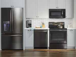 Black Stainless Steel Appliances from @GE_Appliances @BestBuy  #ad