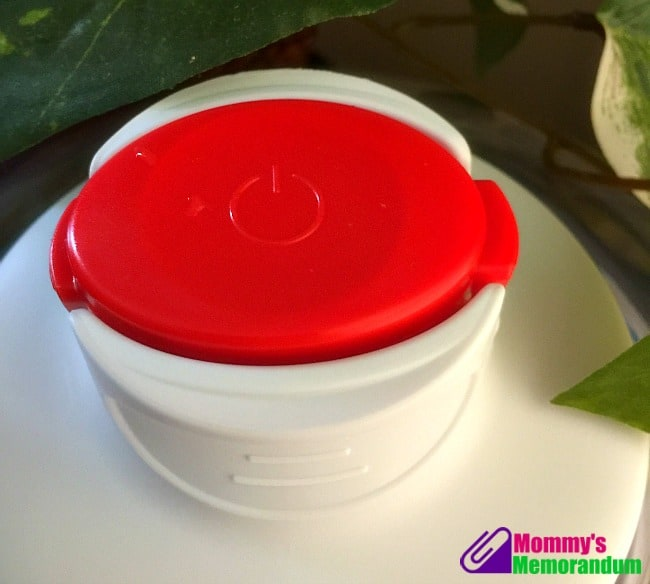 Good Cooking Auto Vacuum Food Dome sealing button