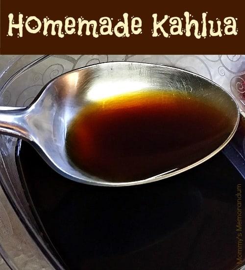 Homemade Kahlua #Recipe #DIY #Kahlua