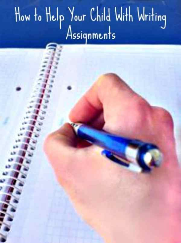 How to Help Your Child With Writing Assignments