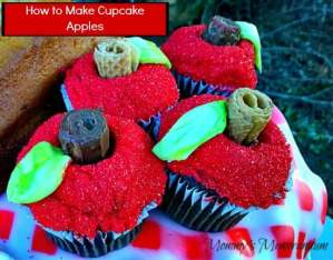 How to Make Cupcake Apples #Tutorial