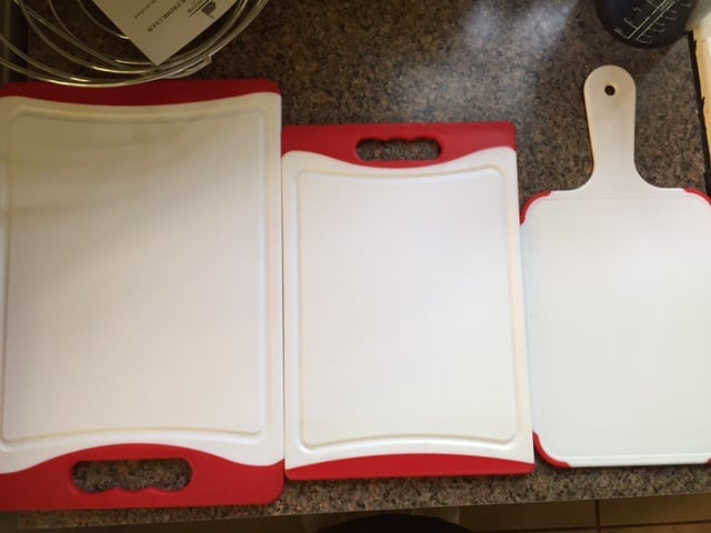 CC Boards™ 3-Piece Nonslip Cutting Board Set.