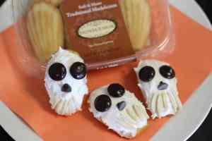 No Bake Sweet Skull Madeleines Tutorial #DIY #Recipe