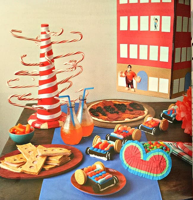 THE ULTIMATE DISNEY PARTY BOOK wreck it ralph