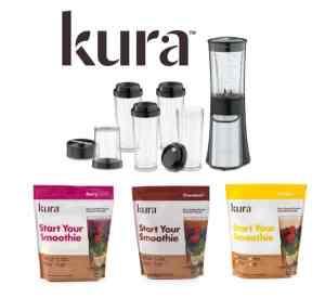 Kura Nutrition #StartYourSmoothie Protien Shakes