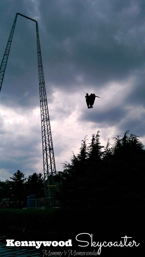 "In 1994 Kennywood took delivery the first ""SKYCOASTER"" to be constructed inside a major amusement park!"