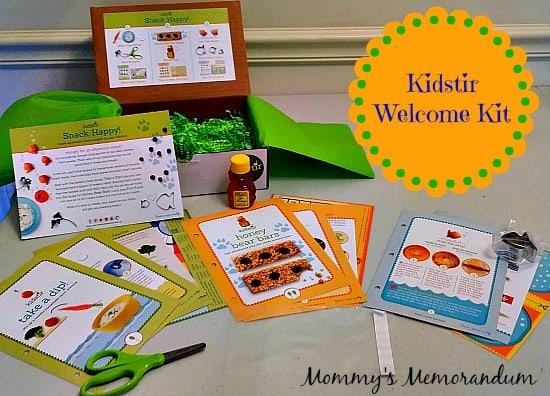 Kidstir Welcome Kit