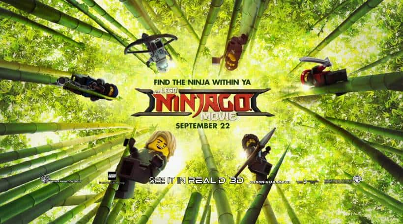 LEGO NINJAGO Movie Banner