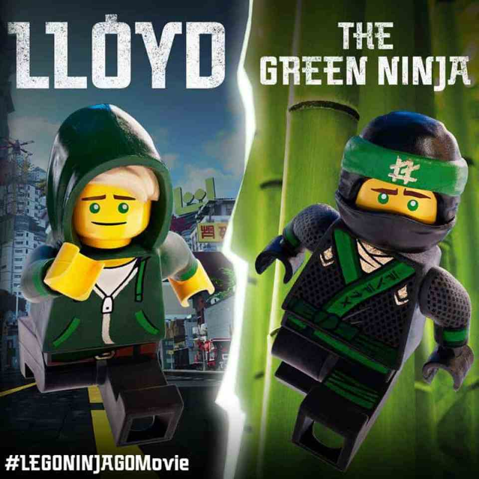 Lloyd the Green Ninja is LEGO NINJAGO movie