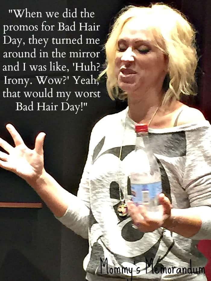 Leigh-Allyn Baker talks her worst bad hair day #BadHairDay