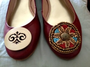 MUPS Shoes with ornaments