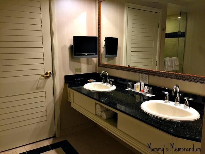 Mandalay Bay Resort bathroom sink