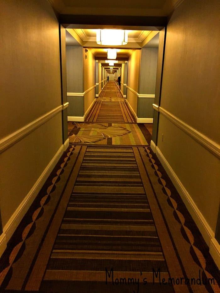 Mandolay Bay Resort Hallway