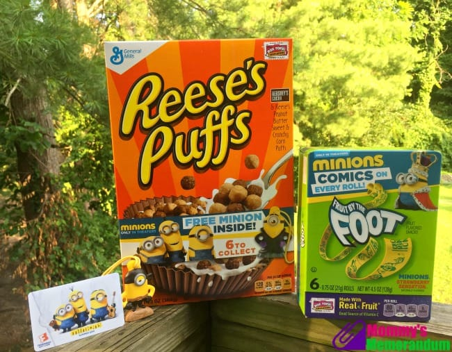 Minions General Mills Prize Pack
