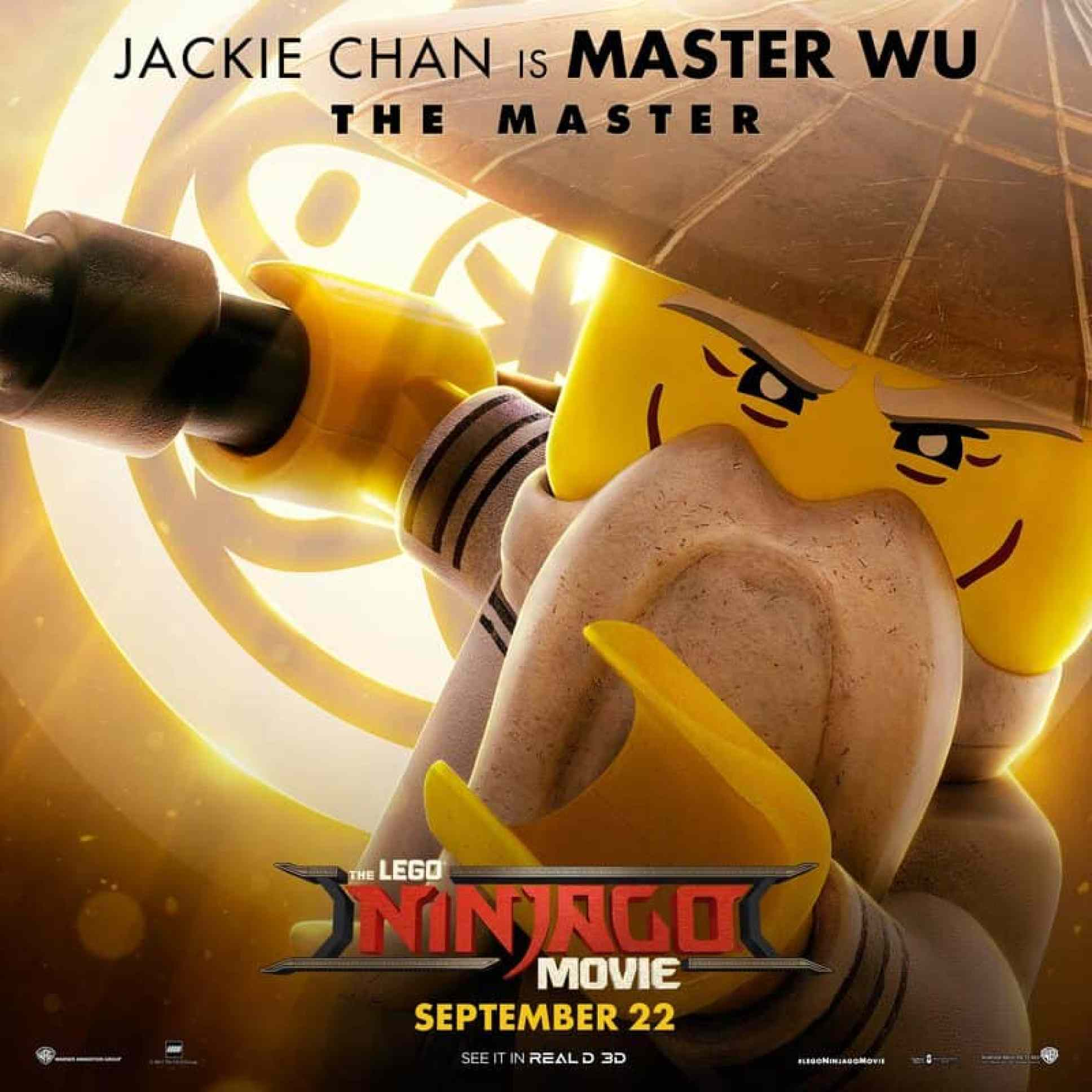 Jackie Chan in LEGO NINJAGO Movie
