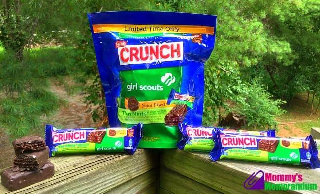 Nestlé Crunch Girl Scout Candy Bars