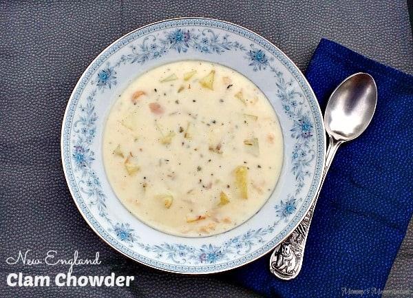 New England Clam Chowder #Recipe