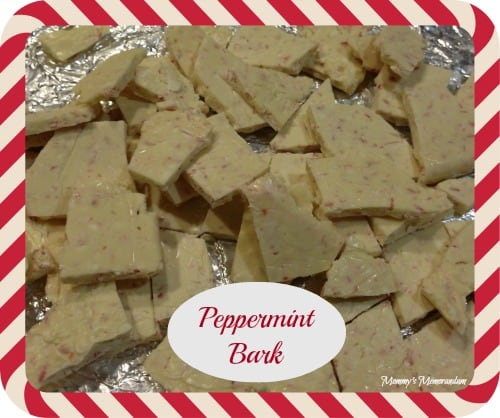 Peppermint Bark #Recipe