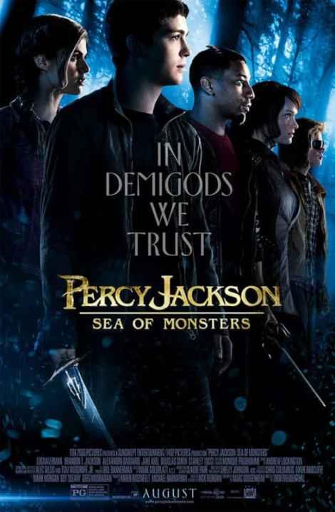 Percy Jackson movie poser