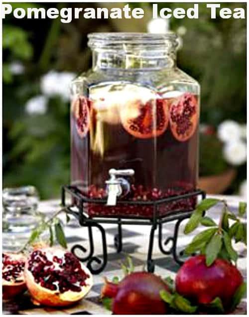Pomegranate Iced Tea Recipe